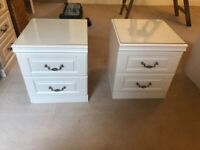 Drawers, dressing table, bedside cabinets