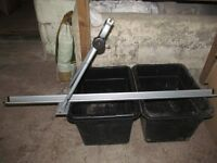 Roof mounted cycle carriers x 4