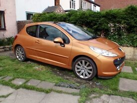 Sporty Peugeot 207 1.6HDi GT