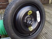 r50/r56space saver spare AS NEW totally UNUSED