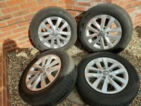 "VW Transporter T6 16"" alloys"
