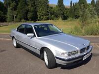 BMW E38 735i Sport Auto 2001 Y Reg Silver