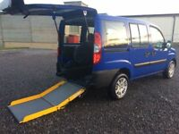 FIAT DOBLO 1.3 DIESEL DISABLED WHEELCHAIR MOBILITY SCOOTER WAV 66K FSH PX AND NATIONWIDE DELIVERY