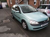 Vauxhall Corsa 1.2 Comfort. Great for learner driver.