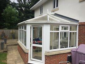 Conservatory - 5x3 mtr PVC & Double Glazed