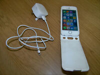 Iphone 5s 32Gb Unlocked with case & charger