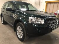 Superb Value And Great Condition 2010 Land Rover Freelander XS 2.2 Diesel Automatic 4x4 HPI Clear