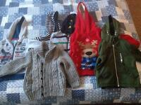 Toddlers hoodies,coats and jumpers