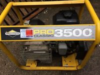 Briggs and Stratton generator 3500 excellent condition
