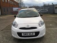 Nissan micra 1.2 visia white mot until 30/6/17 recently been service