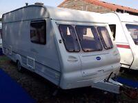 2001 Bailey Ranger 500 5 Berth Caravan with Full Awning