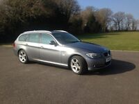 BMW 318i Touring Buisness Edition 2011, Graphite, Full Leather, SAT Nav, Full BMW Service History.