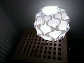 2 Table Lamps - Fillsta Ikea - White
