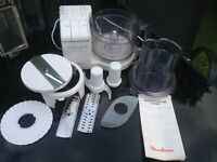 MOULINEX MASTERCHEF 360 WITH ACCESSORIES-WORKING ORDER-CLEAN