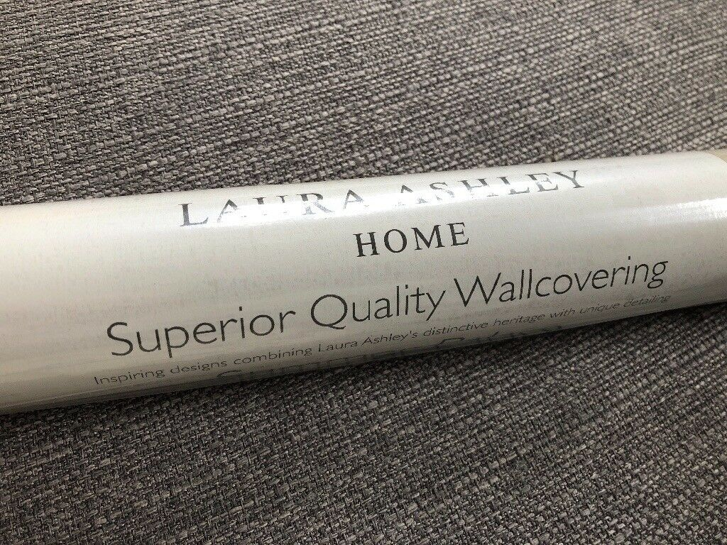 4 Rolls Brand New Laura Ashley Wallpaper Summer Palace Still In Original Wrapping