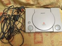 Sony PlayStation 1 - Original Grey Console (SCPH-9002) [tested & works]