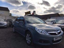 Vauxhall Vectra 1.8 i VVT Design 5dr (07 reg) Hatchback 102,028 miles Manual Petrol MOT 23/03/2018