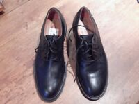 Size 8, Worn once, Clarks Black Leather Formal shoes