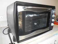Convection Oven Rotisserie Grill & 2 Ring Hob 'Scotts of Stow' 42 Litre capacity (14.6x23.6x16.6)