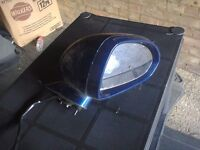 corsa d drivers mirror in ultra blue