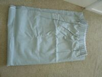 Duck Egg blue, black-out curtains from Dunelm
