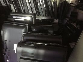 "Job Lot of TVs. Smashed screens. Various brands. Good for spare parts. 50"" 40"" 32"" LED, LCD"