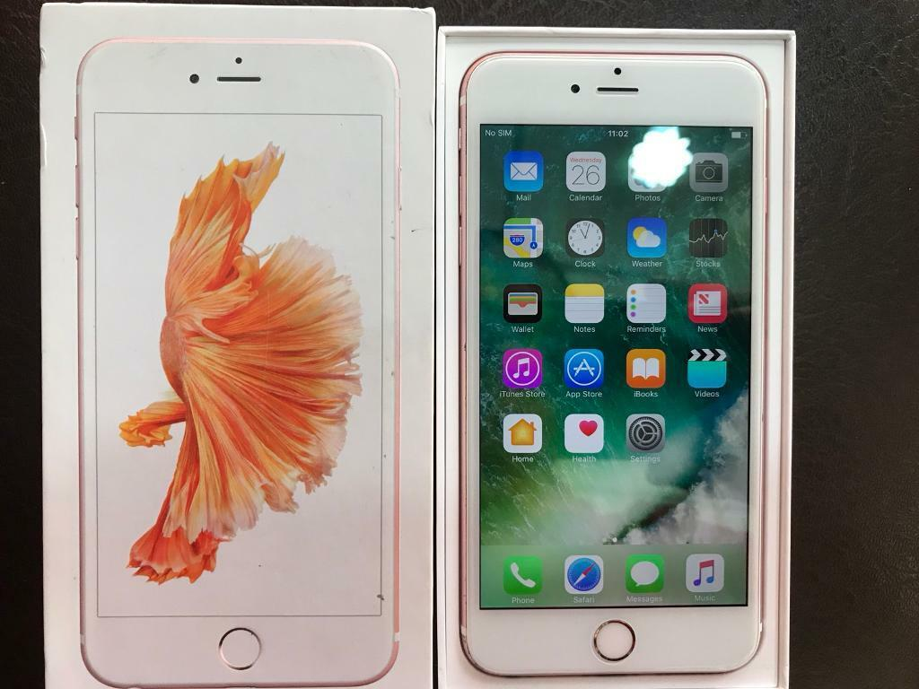 iPhone 6S - 16 GB Excellent Condition Available in Space Grey, Rose Gold, Gold and silver Colour