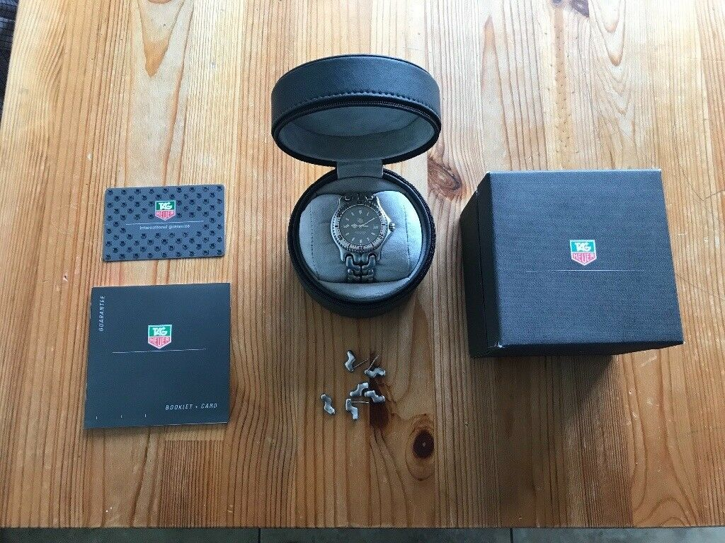 Men's Tag Heuer S/el Professional 200m watch