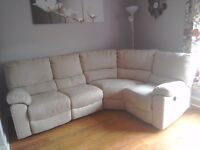 Power corner reclining sofa