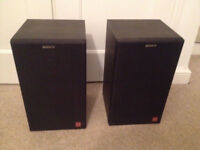 Sony APM-A70E Loud Speakers 2 Way, Rare Incredible Sound, Very good condition & fully working