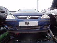 BREAKING -- Vauxhall Corsa Life Twin Port 1L Petrol 60 BHP -------- 2005