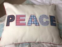 Peace Scatter Cushion