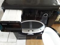 Black Beko condenser dryer