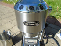 DELONGHI COFFEE MAKER with ACCESSORIES and INSTRUCTION BOOK