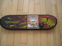 Tony hawk skateboard for ps3 in excellent condition also includes the PS3 game.
