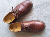 Dr Martens shoes Uk size 9 EU 43 brown