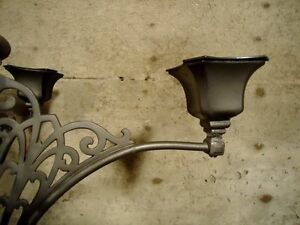 CAST IRON LARGE CANDLE HOLDER West Island Greater Montréal image 4