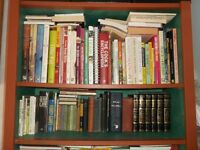 Books, Library worth over job lot over 300 titles