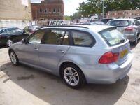 BMW 318D,Turbo diesel estate ,1 previous owner,2 keys,full MOT,runs and drives very nicely,FL60UTF