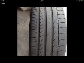 Michelin tyre 256/30zr/20