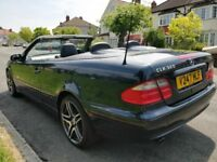 Mercedes CLK320 Convertible Avantgarde Auto Cheap Summer Fun Immaculate Car 1...