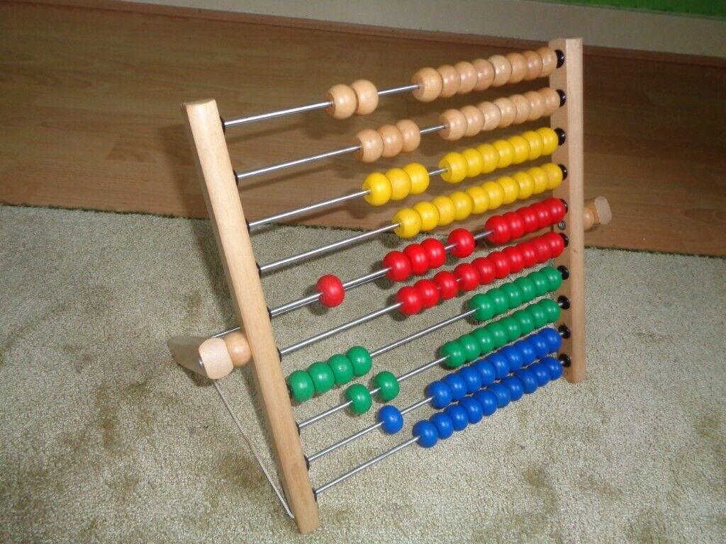 Ikea abacus   in West End, Glasgow   Gumtree