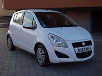 2013 '63 plate Suzuki Splash SZ3 facelift, 31k, FSH and just £30 a year RFL