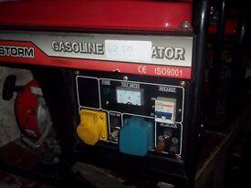 2.5KW POWERSTORM 4 STROKE PETROL GENERATOR WITH LOW OIL AUTOMATIC SHUTDOWN