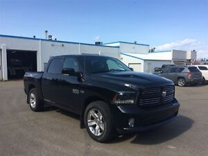 2015 Ram 1500 Sport - LEATHER HEATED SEATS AND STEERING WHEEL, P