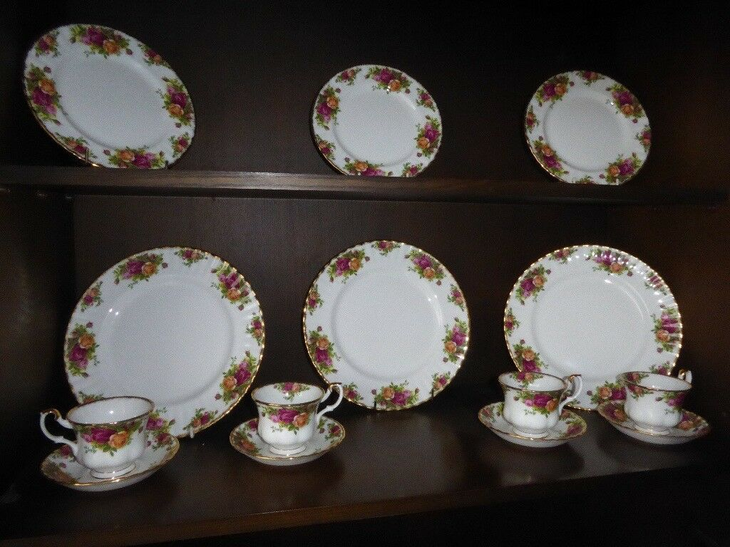 Royal Albert Plates & Teacups