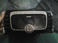 ford mondeo sony radio