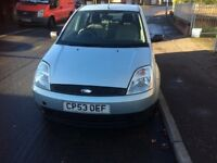 FORD FIESTA 1.25 LITRE 2003 .MOT JULY2018 EXCELLENT RUNNER- IDEAL CHRISTMAS PRESENT