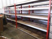 Heavy Duty Warehouse Retail Industrial Storage Shelving Units 245x200x60 cm