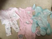 3 sets of pjs tiny baby